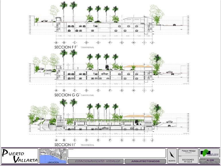 Parque Hidalgo Plans