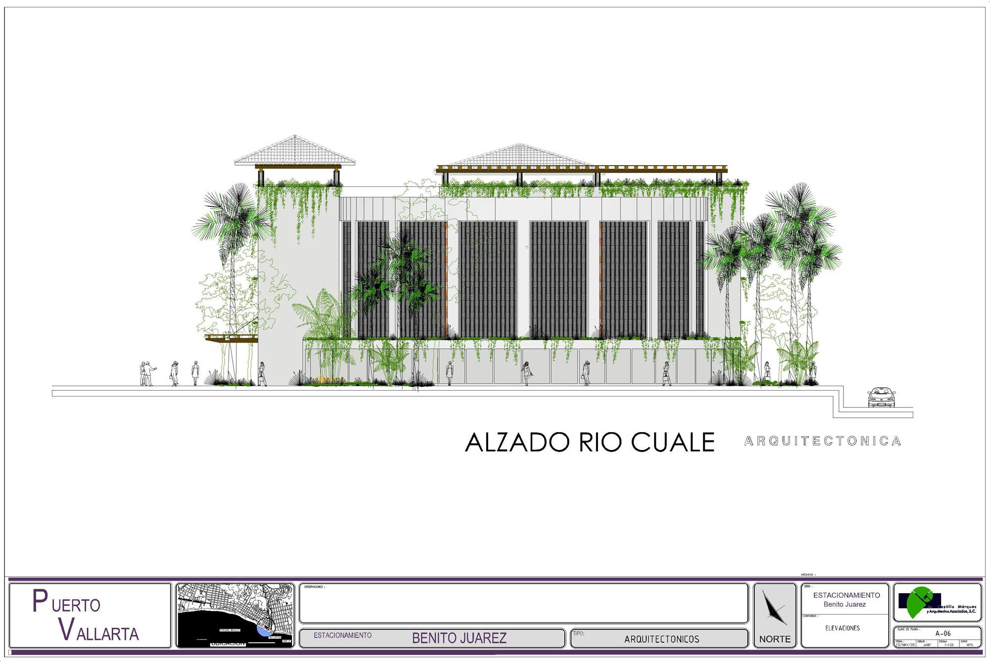 Parque Juarez plans